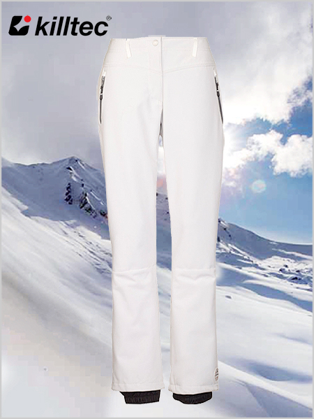 Jilia softshell pants - off white