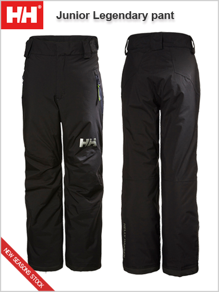 Ages 10-12: Junior Legendary pant - Black