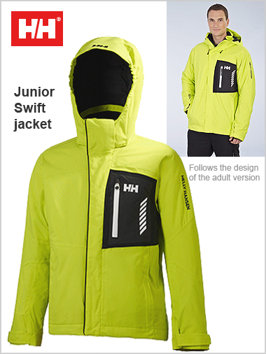 Ages 14: Junior Swift jacket - Wasabi