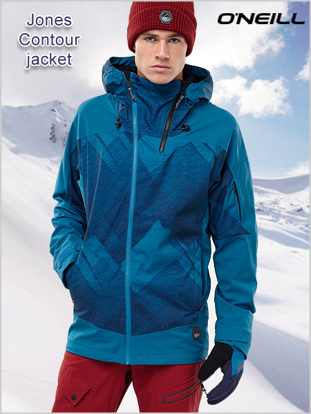 Jones Contour jacket - blue