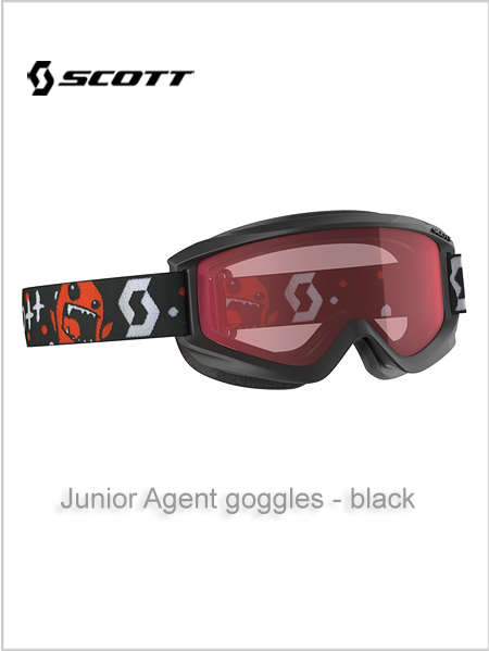 Junior Agent goggles (age 4 - 8) - black