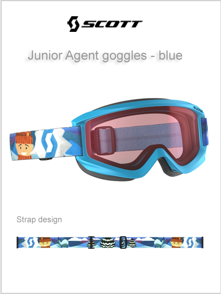 Junior Agent goggles (age 4 - 8) - blue