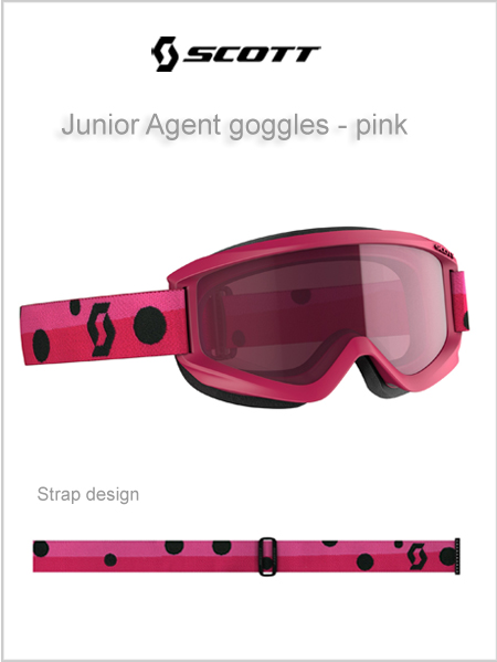 Junior Agent goggles (age 4 - 8) - pink NEW