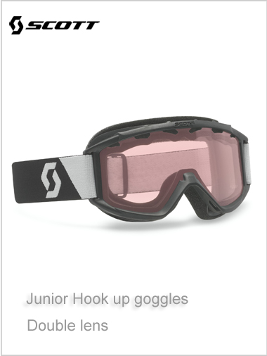 Junior Hook Up goggle NEW - black age 10+