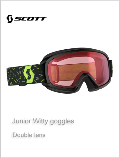 Junior Witty goggle - black age 10+