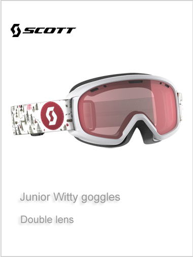 Junior Witty goggle - white age 10+