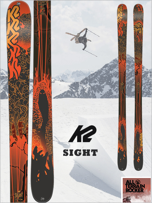 Sight skis