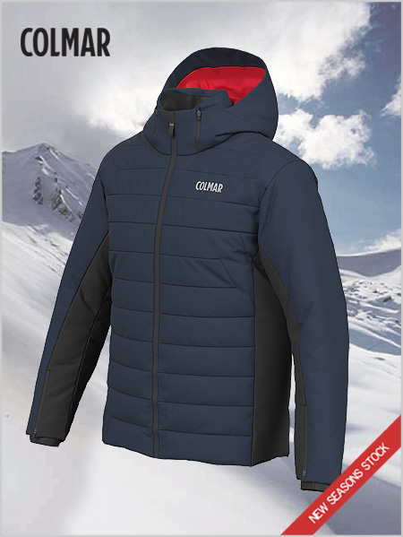 Kandahar ski jacket (larger sizes) - Blue black