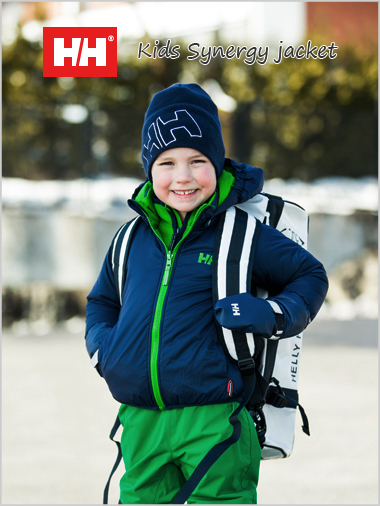 Age 6-8: Kids Synergy reversible jacket