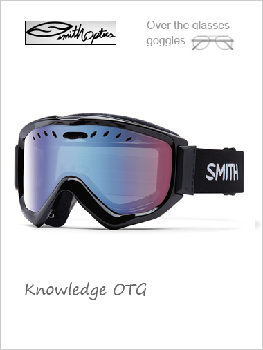 Knowledge OTG - black with blue sensor mirror