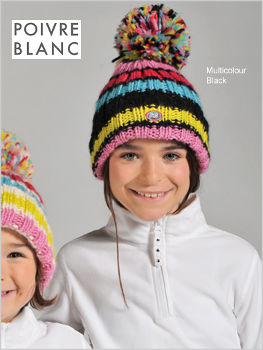 LUC girls knit hat - junior