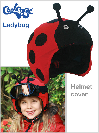 Helmet cover - Lady bug