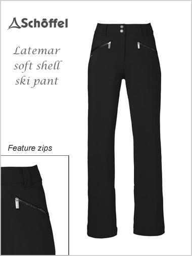 Latemar ladies soft shell pant (only 12-14 now left)