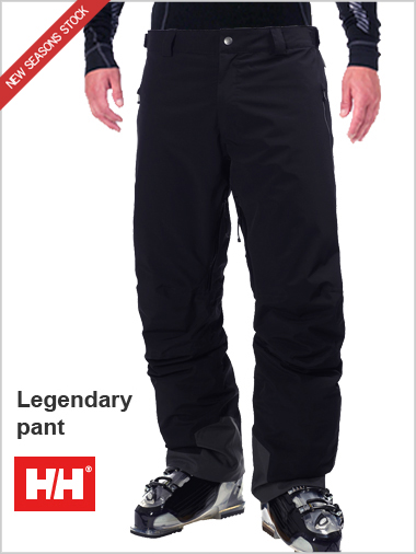 Legendary pant Black
