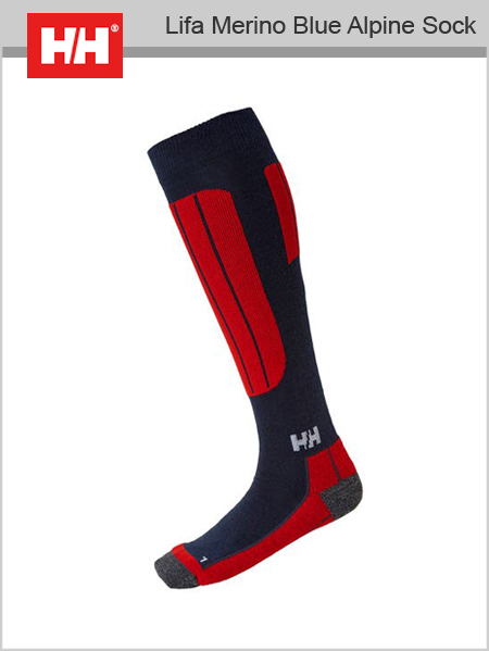 Lifa Merino Blue Alpine sock - Navy