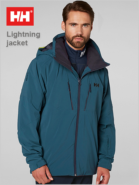 Lightning Jacket - Midnight green