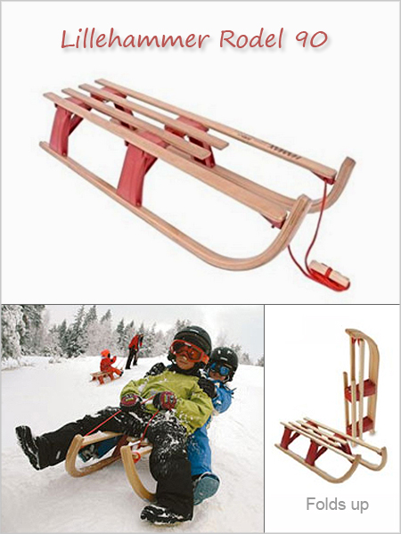 Lillehammer Rodel 90 traditional sledge