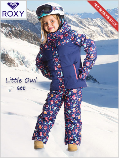 Age 4-7: Little Owl jacket and bib-pant set