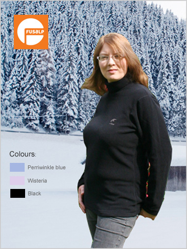 Loisa Micro-fleece Roll Neck (only XL now left)