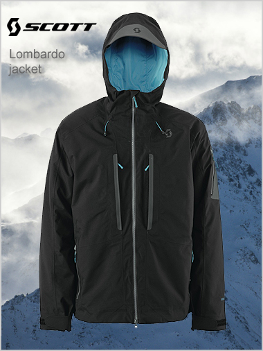 Lombardo 150 jacket (Gore-tex) - black