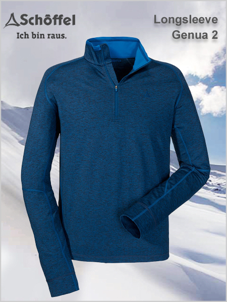 Longsleeve Genua 2 performance fleece top (only M now)