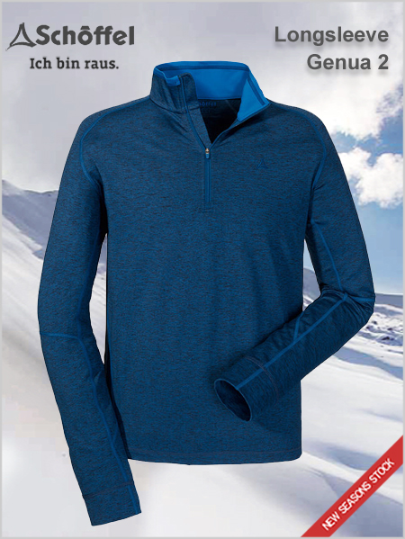 Longsleeve Genua 2 performance fleece top