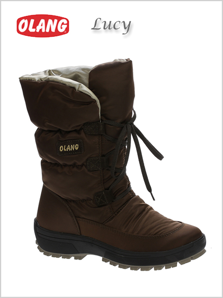 Lucy Tex snow boots - Coffee (only UK 5 now)