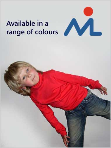 Plain Roll neck top - age 3-4 only