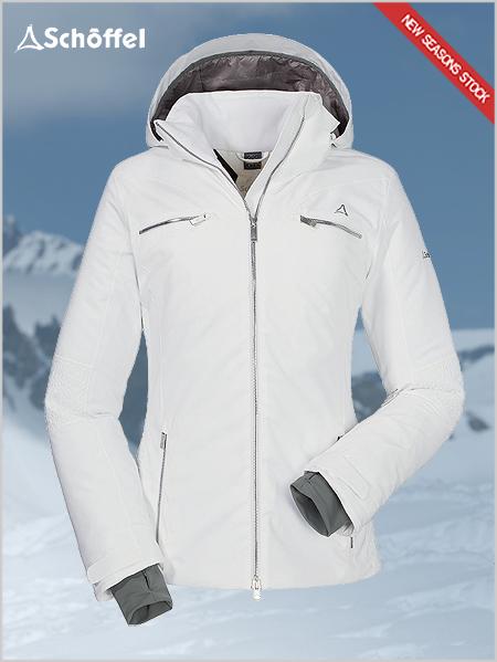 Schoffel  Maribor 2 ski jacket - white 3c69626d1