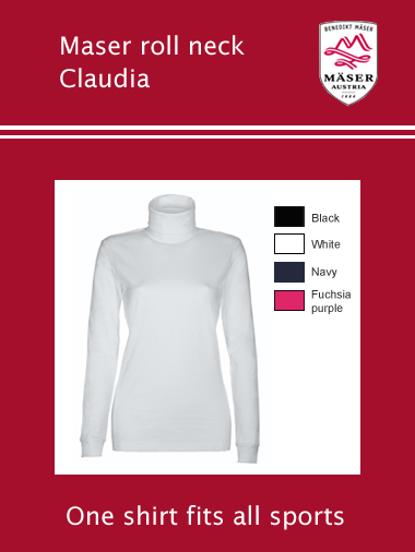 Maser Claudia roll neck - womens