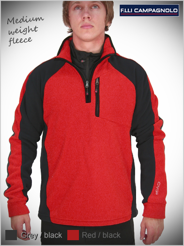 Mens medium weight fleece top (only 3XL now left)