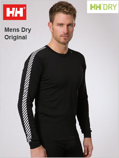 Men's Dry Stripe crew (Lifa)