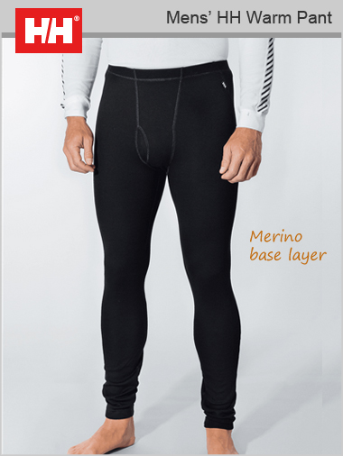 Mens - HH Warm pant (Merino base layer)