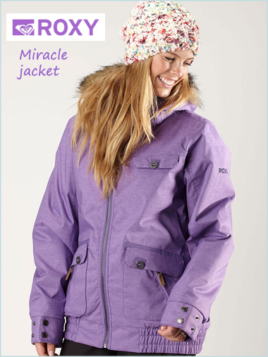 Miracle jacket - Purple (only 8 & 10 now left)
