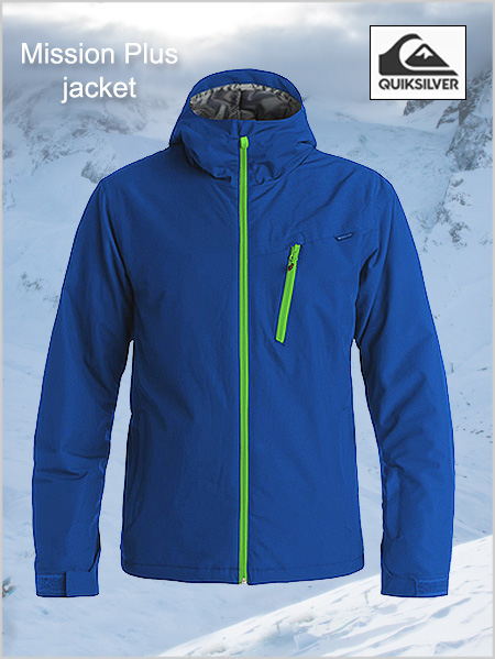 Mission Plus Jacket - Sodalite blue