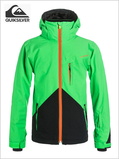 Age 8-16: Mission Color snow jacket