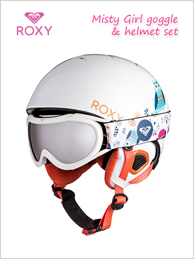 Misty Girl helmet / goggle set - Little Owl