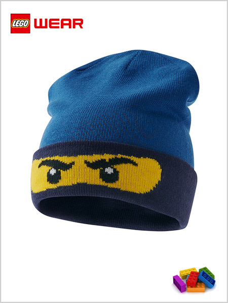 LEGO® Ninjago knit hat 708 - Blue