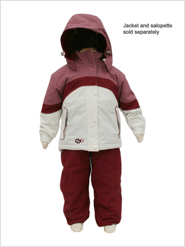 No Panic Bordeaux jacket - age 8