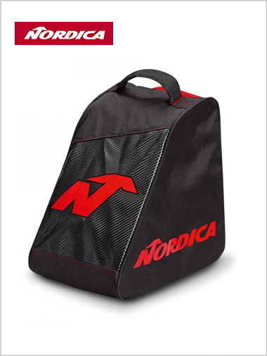 Nordica Promo boot bag - black / red