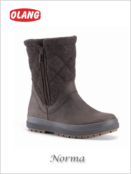 Norma Tex snow boots - coffee (only UK 5 now left)