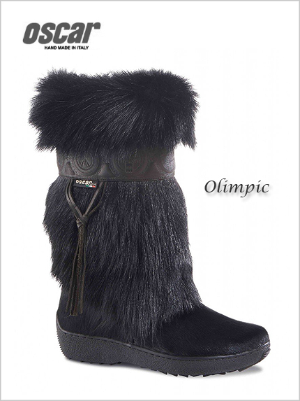 Oscar Olimpic boots in black