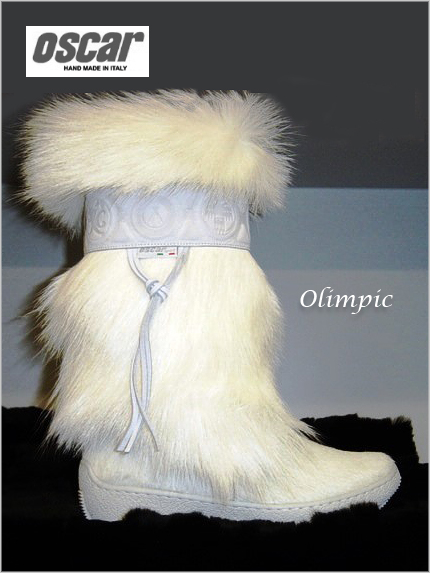 Oscar Olimpic boots in white