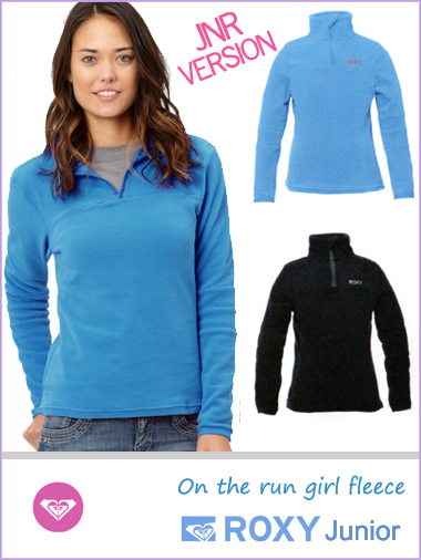 Junior girls - 'On the run' girl fleece (only age 14 now)