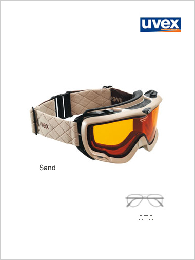 Orbit optic OTG goggle - sand