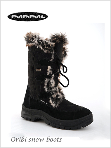 Oribi snow boot - black
