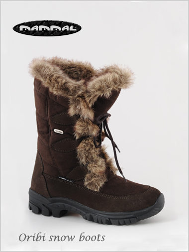 Oribi snow boot - dark brown