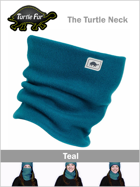 Turtle fur neck - Dark teal