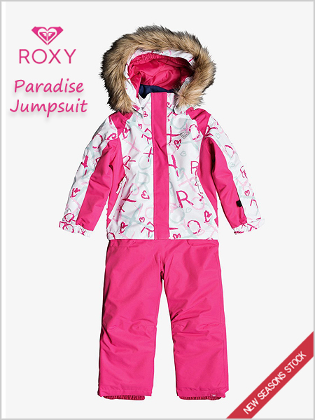 Age 3-7: Paradise Jumpsuit - Bright white school day
