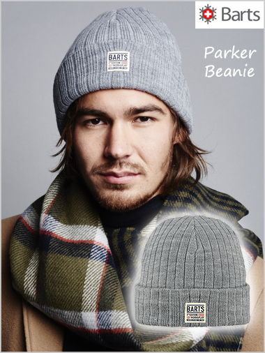 Parker beanie - heather grey